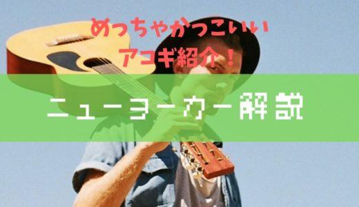 【普通のアコギとは違う!?】ニューヨーカースタイルのアコギ紹介